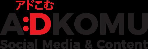 Logo Adkomu Social Media & Content Agency